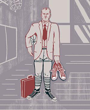 Illustration of Chuck Taylor