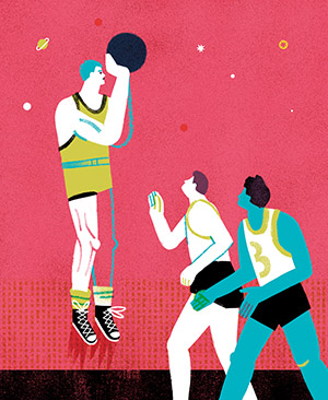 Illustration of Kenny Sailors