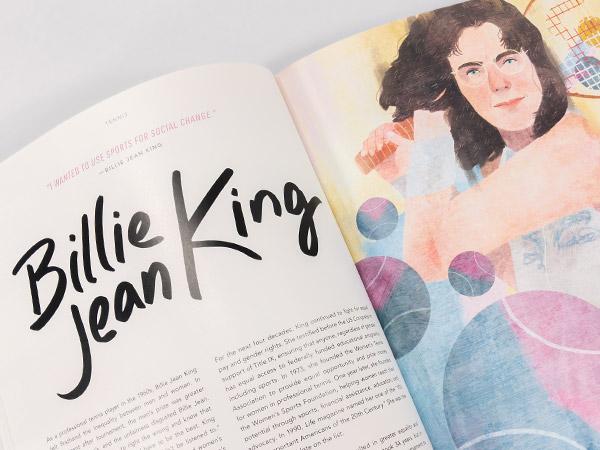 Image of Billie Jean King story